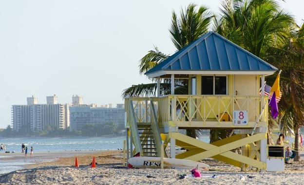 Miami Beach lifeguard post