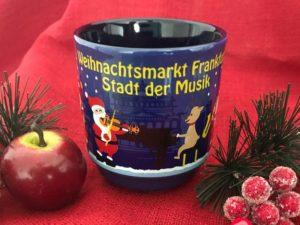 Glühwein mug designed for the Frankfurt Christmas market