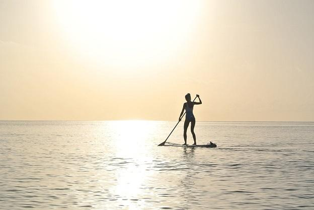 Paddleboarding in the Maldives - Maldives Travel Guide