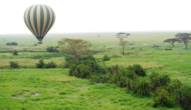 Hot air balloon ride in Tanzania - It should definately be on your bucket list