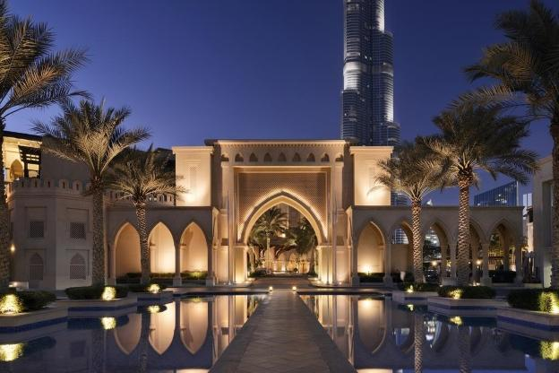Luxury Hotels - Palace Downtown Hotel Dubai